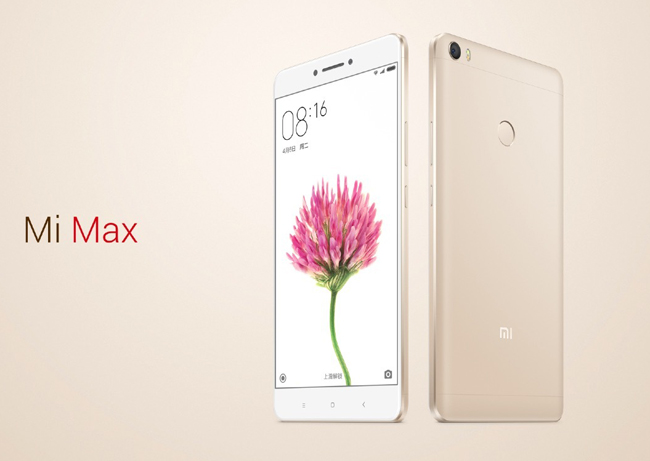 Chiếc Xiaomi Mi Max sở hữu màn hình lên tới 6,44 inch độ phân giải Full HD, và có giá bán khoảng 5,1 triệu đồng.