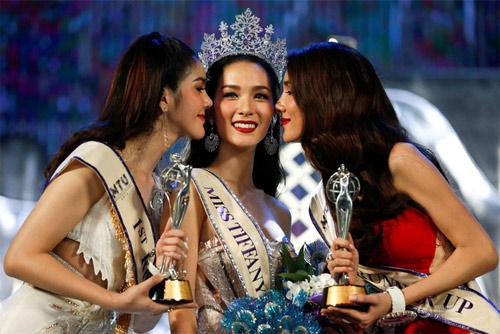 Lộ diện hoa hậu chuyển giới xinh nhất Thái Lan - 1