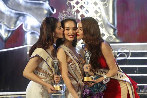 Lộ diện hoa hậu chuyển giới xinh nhất Thái Lan - 4