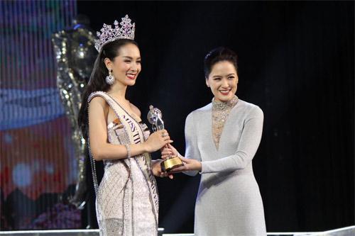Lộ diện hoa hậu chuyển giới xinh nhất Thái Lan - 2