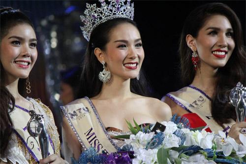Lộ diện hoa hậu chuyển giới xinh nhất Thái Lan - 3