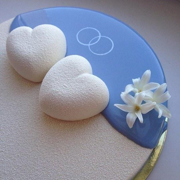 Mê mẩn món bánh kem đẹp như đá cẩm thạch - 11