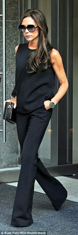 """Victoria Beckham - siêu sao """"thuần hóa"""" quần ống rộng - 2"""