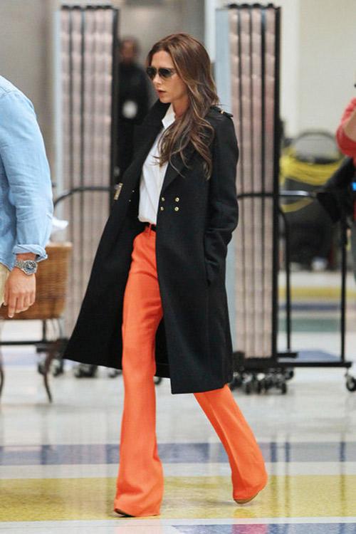 """Victoria Beckham - siêu sao """"thuần hóa"""" quần ống rộng - 6"""