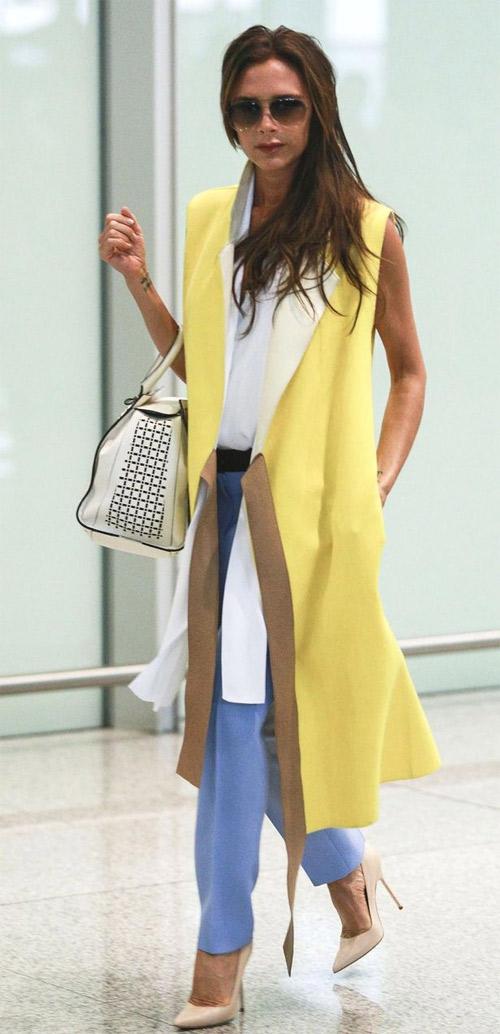 """Victoria Beckham - siêu sao """"thuần hóa"""" quần ống rộng - 10"""