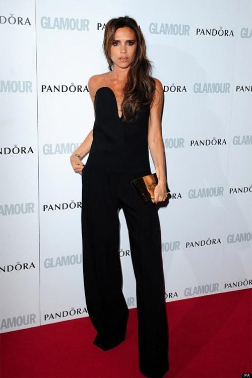 """Victoria Beckham - siêu sao """"thuần hóa"""" quần ống rộng - 8"""