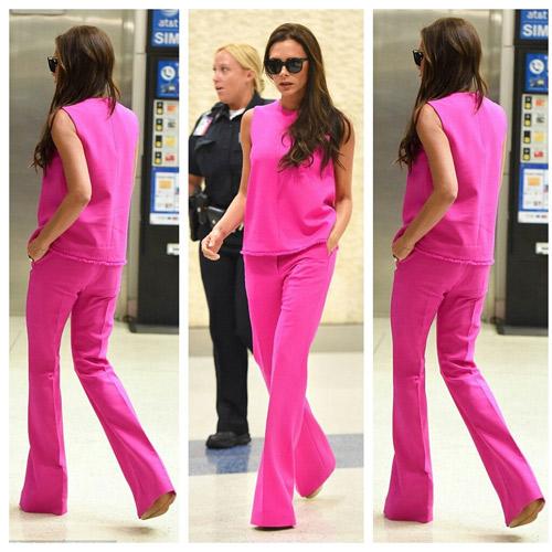 """Victoria Beckham - siêu sao """"thuần hóa"""" quần ống rộng - 9"""