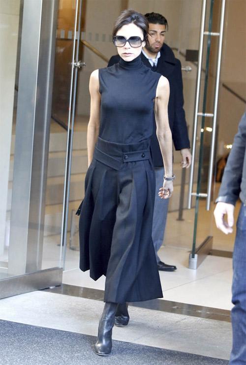 """Victoria Beckham - siêu sao """"thuần hóa"""" quần ống rộng - 14"""