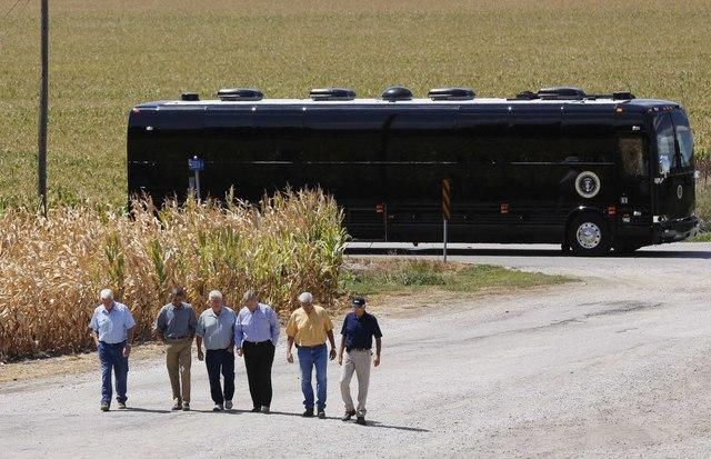 """Ground Force One - xe buýt """"quái vật"""" chuyên chở Obama - 2"""