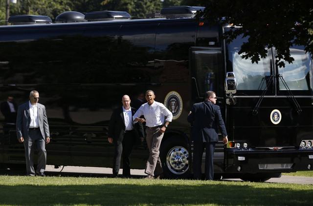"""Ground Force One - xe buýt """"quái vật"""" chuyên chở Obama - 4"""
