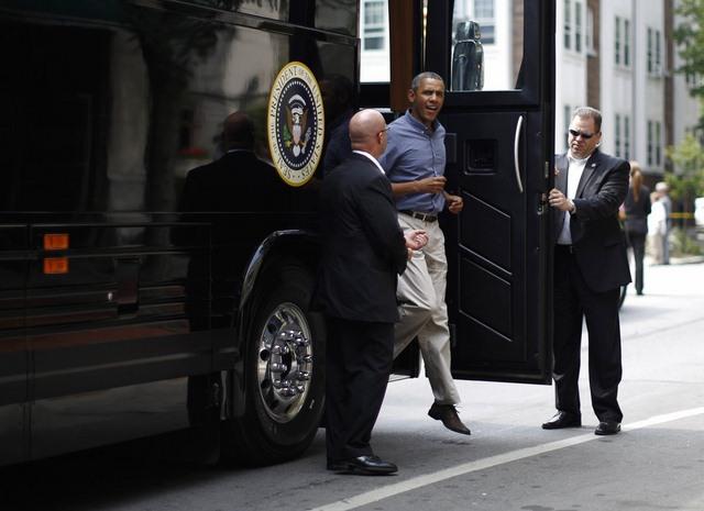 """Ground Force One - xe buýt """"quái vật"""" chuyên chở Obama - 7"""