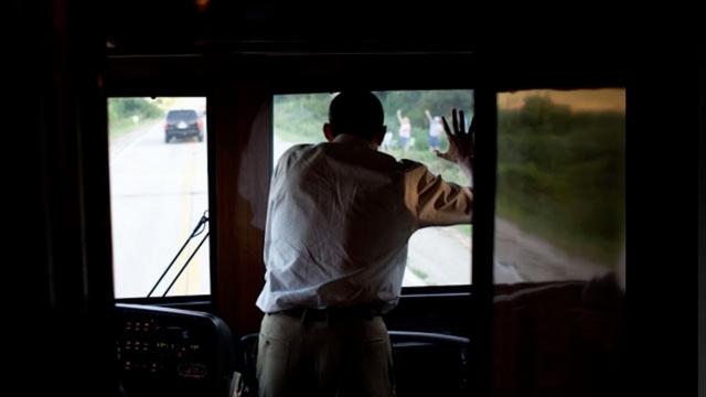 """Ground Force One - xe buýt """"quái vật"""" chuyên chở Obama - 11"""