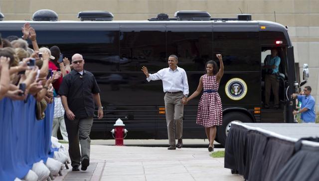 """Ground Force One - xe buýt """"quái vật"""" chuyên chở Obama - 12"""