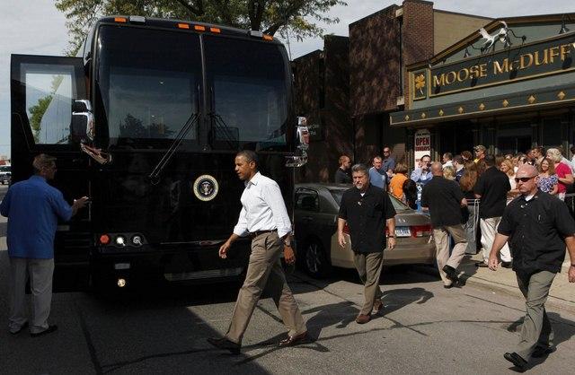 """Ground Force One - xe buýt """"quái vật"""" chuyên chở Obama - 9"""