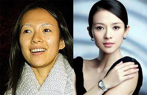 """Mặt mộc của nhiều mỹ nữ Hoa ngữ khiến fan """"ngã ngửa"""" - 1"""