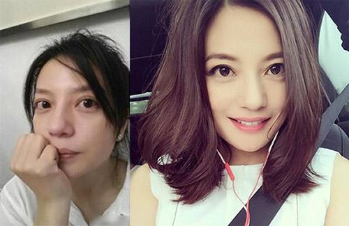 """Mặt mộc của nhiều mỹ nữ Hoa ngữ khiến fan """"ngã ngửa"""" - 2"""