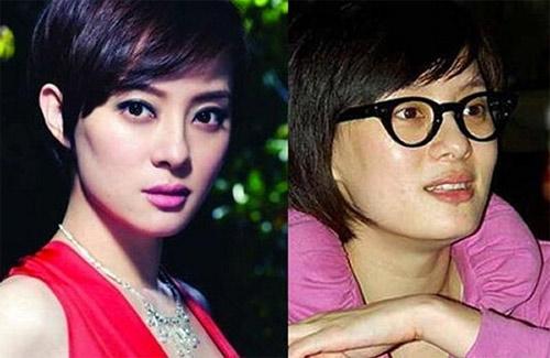 """Mặt mộc của nhiều mỹ nữ Hoa ngữ khiến fan """"ngã ngửa"""" - 9"""