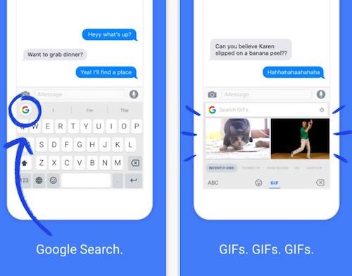 """Google tung công cụ """"tăng lực"""" cho bàn phím ảo trên iPhone - 1"""