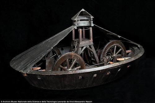 Những bí mật xoay quanh các bản thiết kế của Leonardo da Vinci - 2