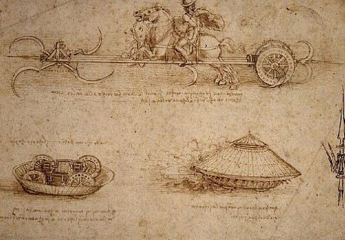 Những bí mật xoay quanh các bản thiết kế của Leonardo da Vinci - 3
