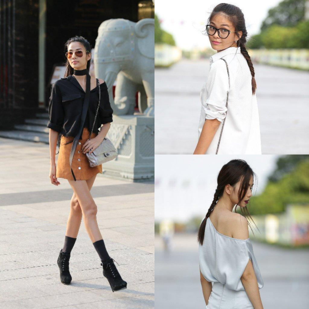 Chân dài Việt sành điệu khi đi xem thời trang - 1