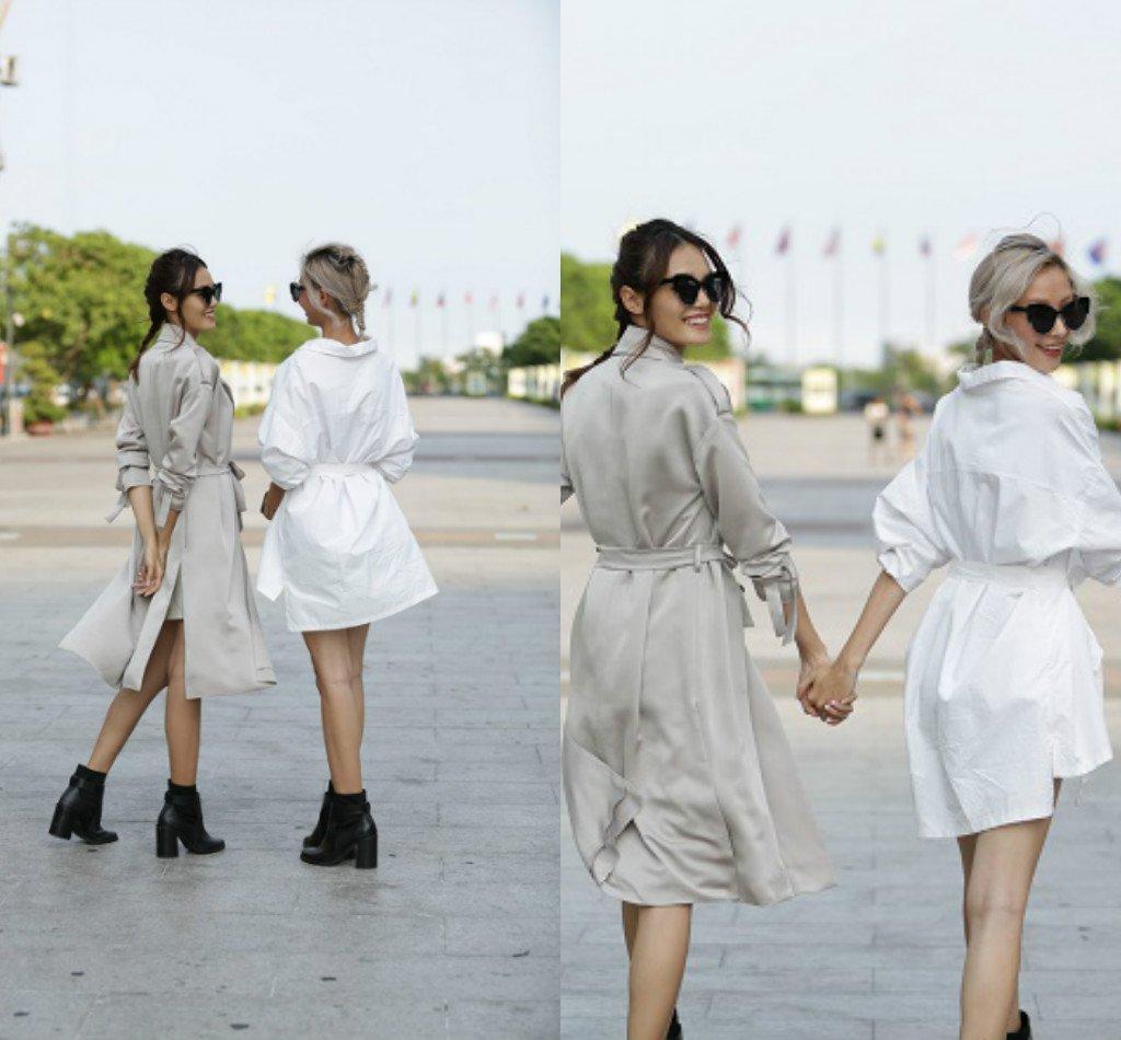 Chân dài Việt sành điệu khi đi xem thời trang - 3