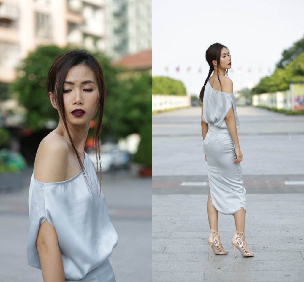 Chân dài Việt sành điệu khi đi xem thời trang - 6