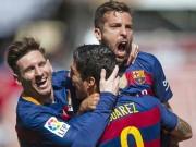 """Bóng đá - Barca vô địch, báo chí thán phục Suarez, """"lơ"""" Messi"""