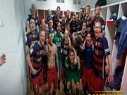 Bóng đá - Ảnh: Barca vỡ òa ngày vượt mặt Real, xưng bá Liga