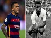 Bóng đá - Barca vô địch, Dani Alves vượt mặt Pele