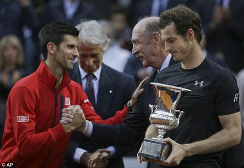 Murray đăng quang Rome Masters 2016 - 2