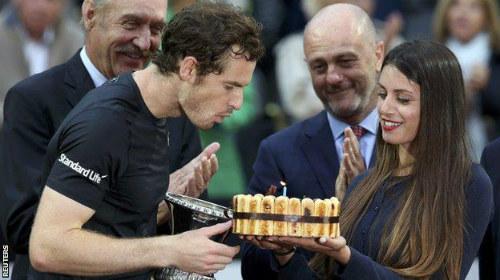 """Phế ngôi Nole, Murray """"bội thu"""" ở Rome ngày sinh nhật - 2"""