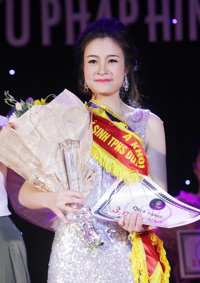 Nữ sinh 19 tuổi giành giải Hoa khôi Tư pháp hình sự - 2