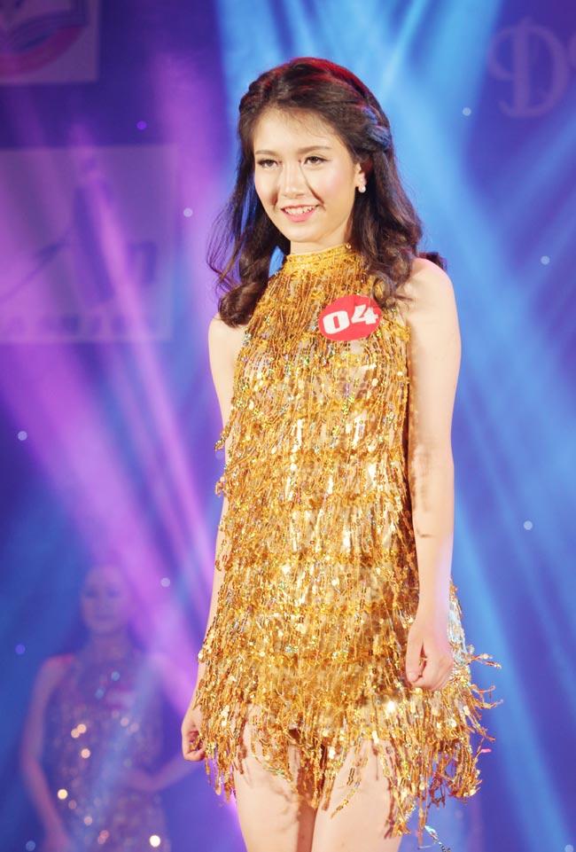 Nữ sinh 19 tuổi giành giải Hoa khôi Tư pháp hình sự - 8