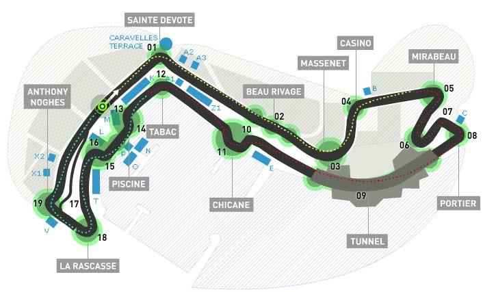 Lịch thi đấu F1: Monaco GP 2016 - 1