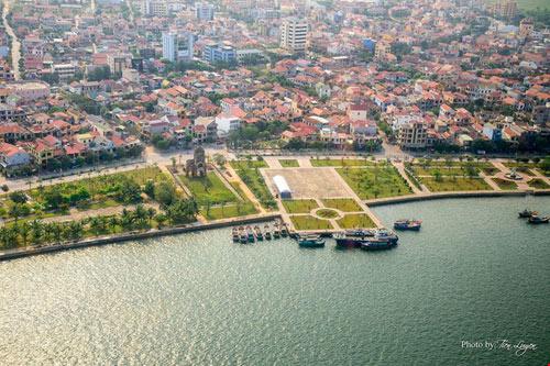 Ngắm thành phố Đồng Hới tuyệt đẹp từ trên cao - 5