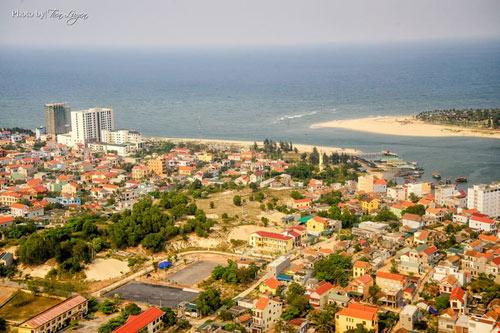 Ngắm thành phố Đồng Hới tuyệt đẹp từ trên cao - 13