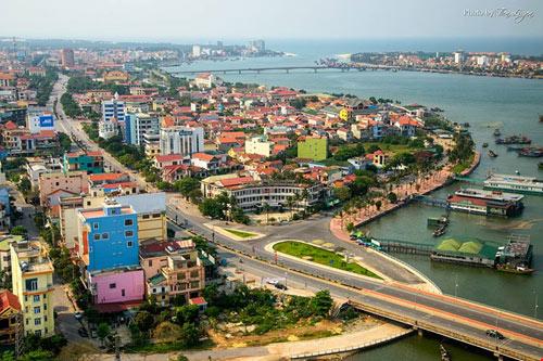 Ngắm thành phố Đồng Hới tuyệt đẹp từ trên cao - 12