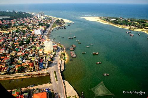 Ngắm thành phố Đồng Hới tuyệt đẹp từ trên cao - 11