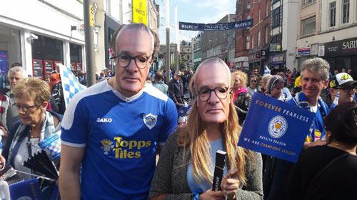 Leicester City rước cúp: Bữa đại tiệc lịch sử - 2