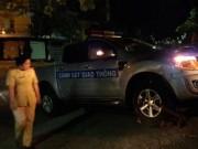 An ninh Xã hội - Trắng đêm truy bắt quái xế tông xe CSGT khi chạy trốn