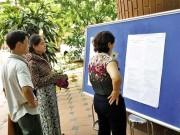 """Giáo dục - du học - Tuyển sinh đầu cấp tại HN: """"Lao đao"""" vì tiêu chí và nguyện vọng"""