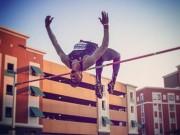 Thể thao - Chàng sinh viên lập kỷ lục với cú nhảy cao 2m31