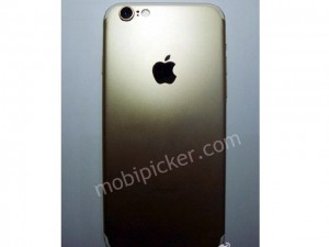 Dế sắp ra lò - Lộ iPhone 7 bản gold, màn hình 4,7 inch