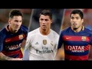 Bóng đá - Cầu thủ hay nhất Liga: Messi, CR7 không xứng bằng Suarez