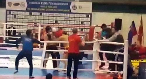 Kung-Fu: 50 người hỗn chiến đánh cả chủ tịch liên đoàn - 1