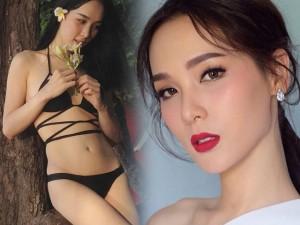 Vẻ đẹp gợi cảm của tân hoa hậu chuyển giới Thái Lan