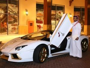 """Ngắm Lamborghini Aventador độ vàng """"độc"""" nhất thế giới"""