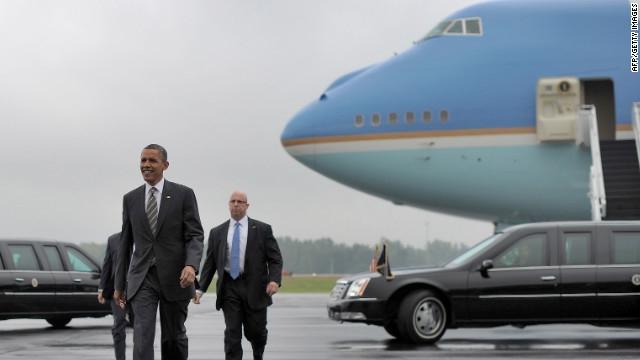 Chuyên cơ Obama đến Việt Nam - Đáp xuống nội bài như thế nào - 1