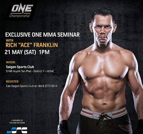 Huyền thoại UFC sang Việt Nam trình diễn chiêu độc - 1